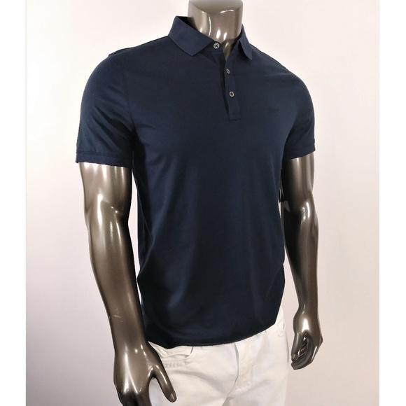 5bd568c6 Michael Kors Shirts | Navy Blue Polo Shirt | Poshmark